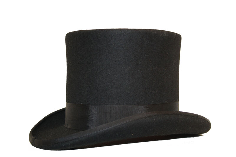 Herren Qualität 100% Wolle 15.2cm hoch Satin gefüttert gefüttert gefüttert Hochzeit Event    Speichern  458d1c