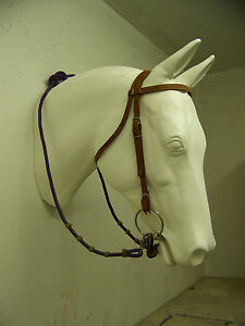 Bridle Buddy, Life size Horse Head , Display Wall Table