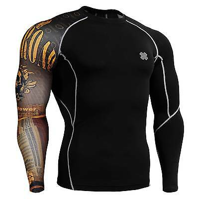 FIXGEAR CP-B27 Skin Tights Compression Under Shirts Fitness GYM MMA Workout
