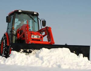 New 84 Snow Blade Plow Quick Attach John Deere Kioti New