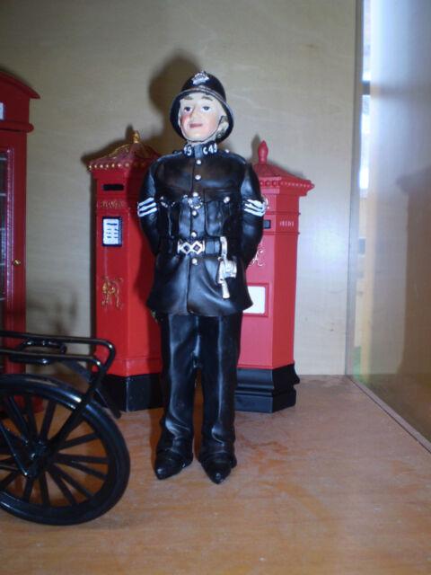 Dolls house figure, Poly/resin Policeman