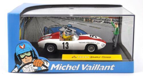 1//43 IXO ALTAYA VOITURE DIECAST MODEL V13 Michel Vaillant Le Mans TEXAS DRIVER