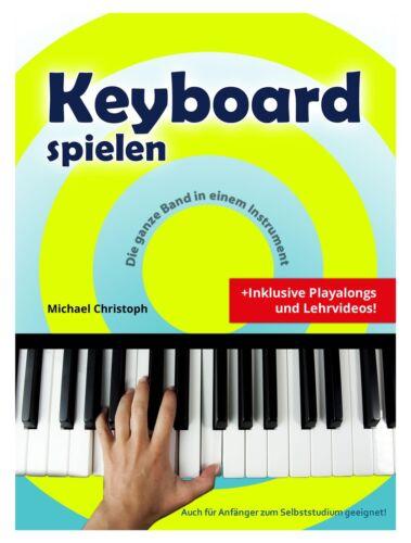 Keyboard spielen Keyboardschule Schule Playalong HD Video Download Heft Anfänger