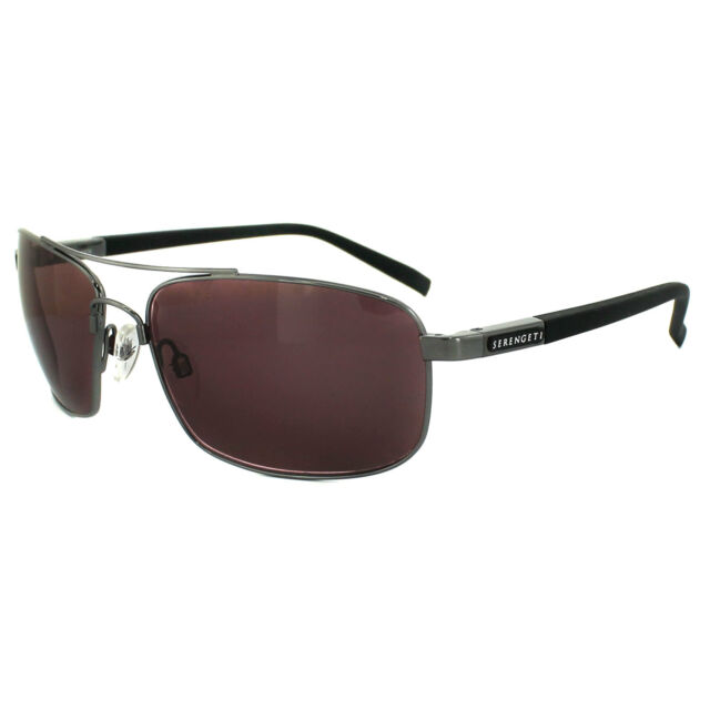 618e3e6f89b80 Sedona Shiny Serengeti Palladio Sunglasses Polarized Gunmetal 7570 qqSZwX