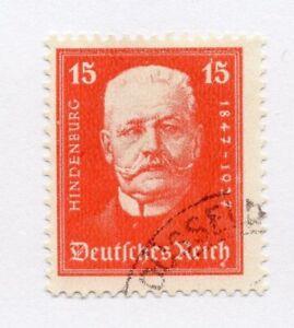 Deutschland Allemagne 1927 Bien-être Question Fine Utilisée 15pf. 290241-afficher Le Titre D'origine