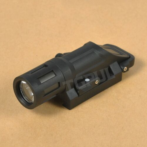 TGPUL Weapon Mounted Multifunction White LED Tactical Light WML Short Flashlight