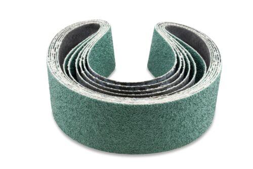 2 X 48 Inch 36 Grit Metal Grinding Zirconia Sanding Belts 6 Pack