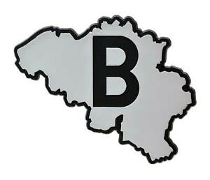 Belgien-Relief-Emblem-Landkarte-Belgique-Belgium-9-cm-HR-Art-15068-selbstklebend
