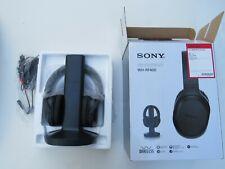 Wireless Headphones Sony For Tv Watching Whrf400r W Transmitter Dock Tmrrf400 6 Ebay