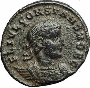 CONSTANS-Constantine-I-son-337AD-Ancient-Roman-Coin-LEGIONS-Standards-i77098