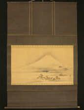 "??1967 JAPANESE BIG HANGING SCROLL : TANI BUNCHO ""Mt.Fuji""  @f541"