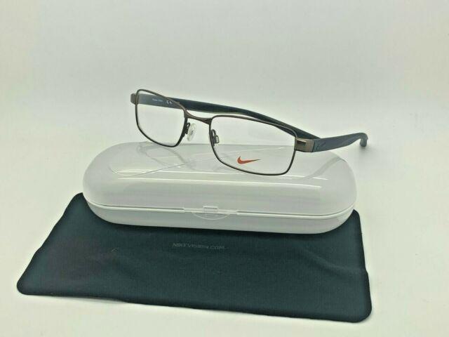 Línea de visión por otra parte, espalda  New Authentic NIKE 8175 210 SATIN BROWN OPTICAL Eyeglasses 53-18-140 | eBay