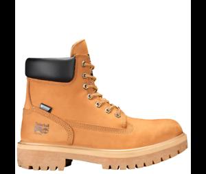 Timberland PRO Men's Direct Attach Waterproof 6'' Work Boots Soft Toe Wheat Size 9(M)