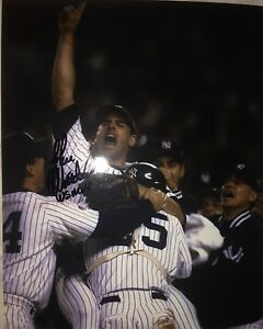 d8380b8b465 JOHN WETTELAND SIGNED NEW YORK YANKEES 96 WS MVP 8X10 PHOTO W EXACT ...