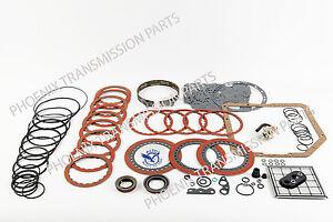 TH350 TRANSMISSION REBUILD KIT PERFORMANCE RED W//BAND//FILTER//REPROGRAMING KIT
