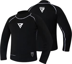 29e5ab251 Image is loading RDX-Rash-Guard-MMA-Gym-Training-Baselayer-Compression-