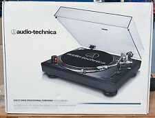 NEW Audio Technica AT-LP120-USB Direct-Drive Professional Turntable Black