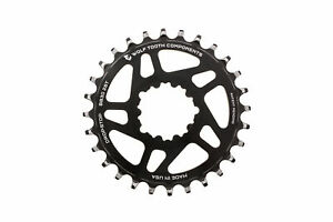 Wolf Tooth Components 28t Direct Mount Drop-Stop Chainring for SRAM BB30 Black