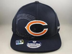 Image is loading Chicago-Bears-NFL-Reebok-Flex-Hat-Cap-Size- 9626ecd1a