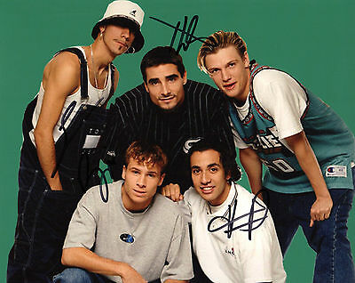 Howie Kevin Brian Backstreet Boys Signed 8x10 Photo Proof B4 Coa Honest Gfa A.j