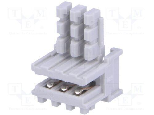 3 IDC für Leitungen 2,5mm 0,22mm2 10 pcs Stecker Randart PIN