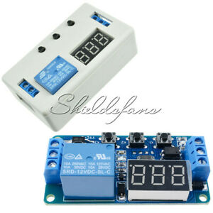 Digital-12V-Delay-Timer-Control-Switch-LED-Display-Automation-Relay-Module-Board