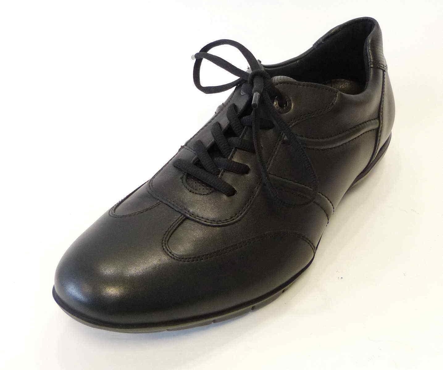 Lloyd Sneaker Armin schwarz 17022 10 Leder Edel Sport Schuhe