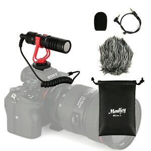 Video-Mic-Microphone-Foam-Cover-amp-Windshield-for-Nikon-Canon-DSLR-Camera-Audio
