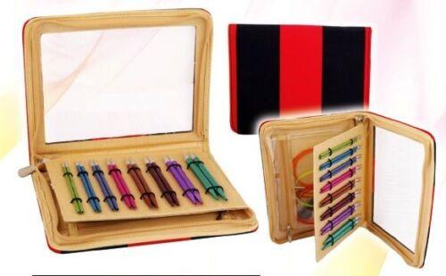 farbige 47404 auswechselbare Nadelspitzen Art KnitPro ZING Deluxe Set