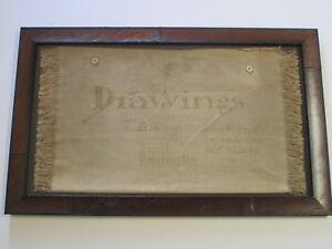 ANTIQUE-DRAWING-GIBSON-SMITH-LEYENDECKER-ART-DECO-ILLUSTRATION-PORTFOLIO-OLD