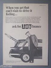 R&L Ex-Mag Advert: United Dominions Trust Finance, Truimph Herald Estate