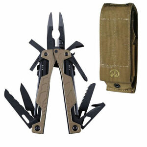 NEW LEATHERMAN OHT COYOTE TAN ONE HANDED MULTI-TOOL KNIFE + MOLLE SHEATH