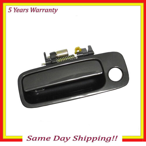 For 97-01 Toyota Camry Outer Door Handle Blue Dusk Pearl 930 Front Left Driver