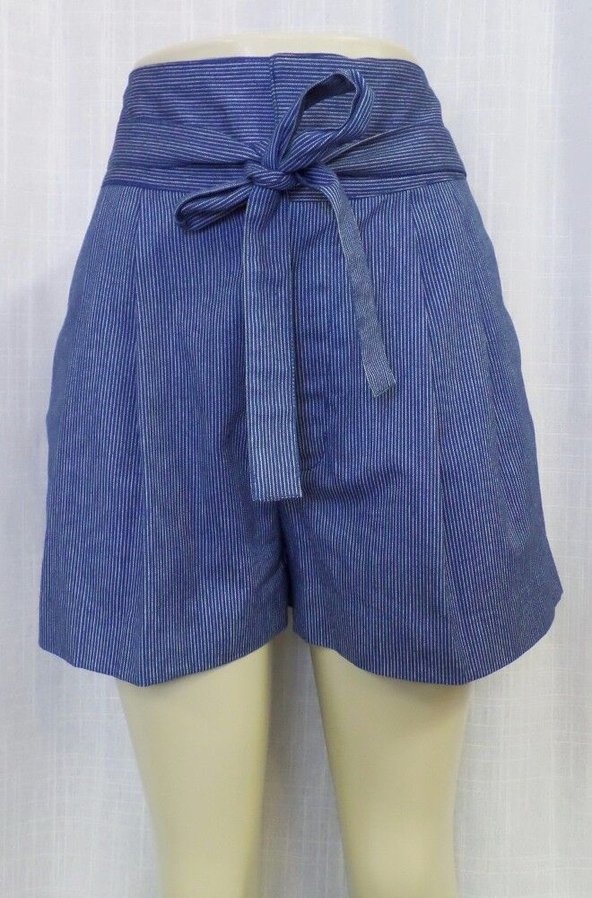 Marc by Marc Jacobs High Waist  Jamie  Pinstripe Shorts Sz. 10 NWT  228