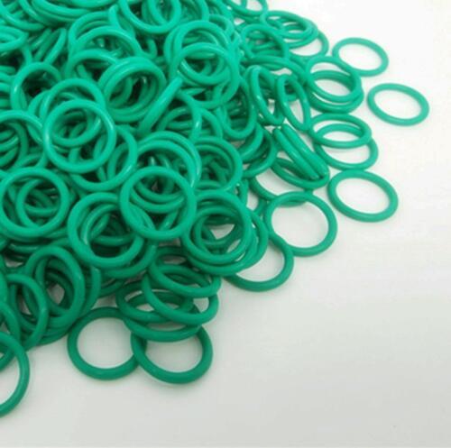 US Stock 50pcs 19mm OD 17mm ID 1mm Dia FKM Viton Seal Fluorine Rubber O-Ring