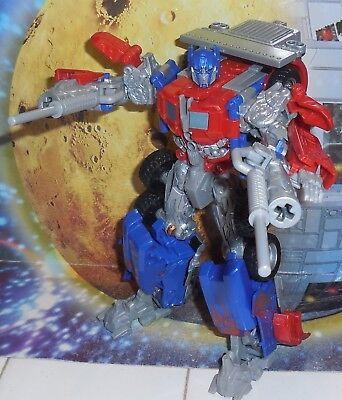 Transformers Movie ROBO-VISION OPTIMUS PRIME Complete Robovision Voyager Lot