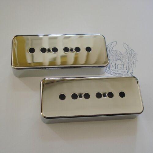 P90 Cover Pickupkappe Set Open chrom 50//50