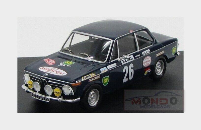 Bmw 2002 Ti  26 Rally Montecarlo 1971 C.Ballot Lena Morenas TROFEU 1:43 TR1716