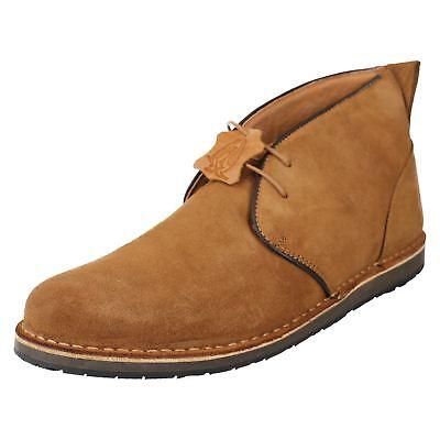 Barricane Heritage Men/'s Hush Puppies Suede Desert Boots