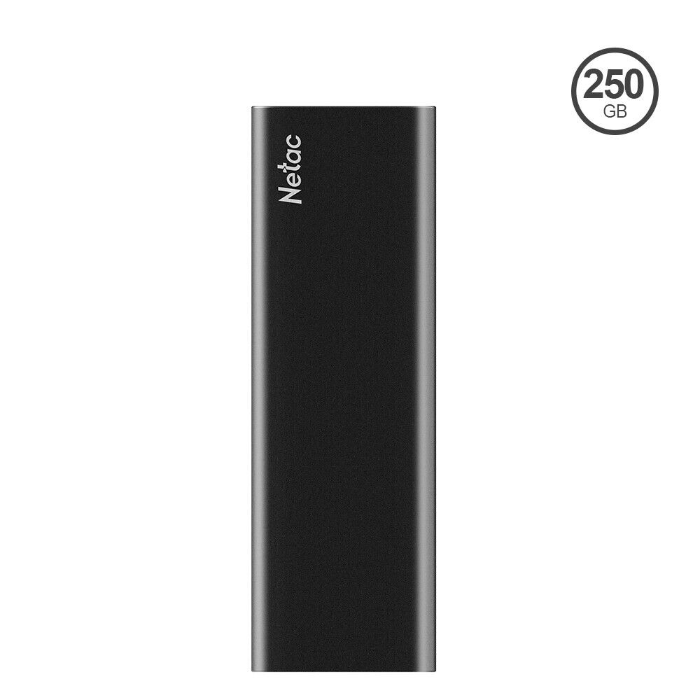 Netac USB3.2 500MB/S 250GB/500GB/1TB Portable Solid State Drive External SSD. Buy it now for 39.99