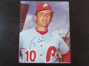 Larry-Bowa-Autograph-Signed-8-x-10-Photo-Philadelphia-Phillies