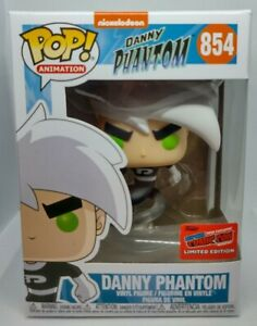 Funko-Pop-ANIMATION-854-DANNY-PHANTOM-NYCC-Esclusivo-Ufficiale-con-sticker-Nuovo-di-zecca