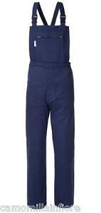 Salopette O Pantalone Con Pettorina Da Lavoro Generico Blu Scuro Sped Grat50121