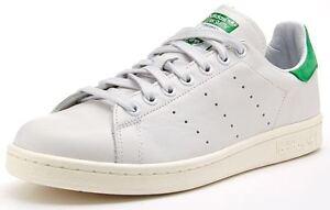 Details zu ADIDAS Originals STAN SMITH D67361 mens leather trainers, green fairway white