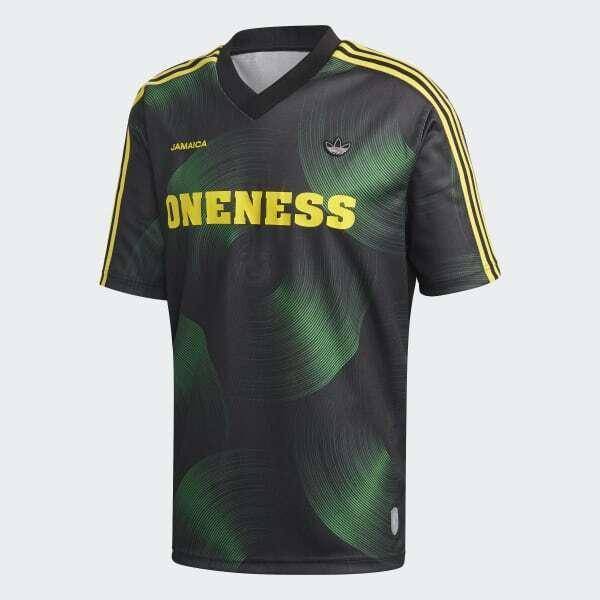 Adidas Originals Men's Jamaica Football Jersey Shirt New GN1380 Size XXL