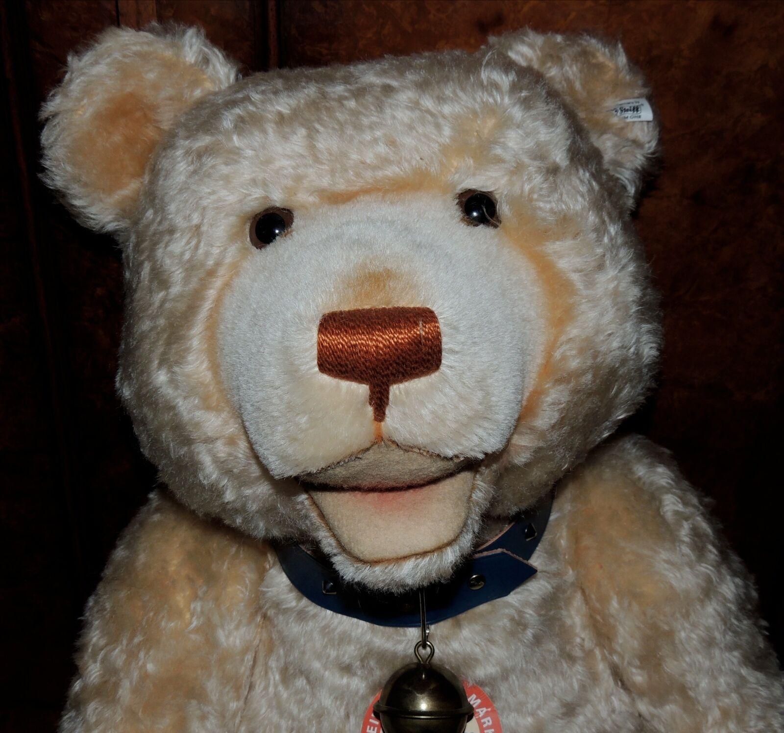 STEIFF TEDDY BABY 1949 REPLICA LIMITED EDITION 75 CM BEAR IN ORIGINAL BOX
