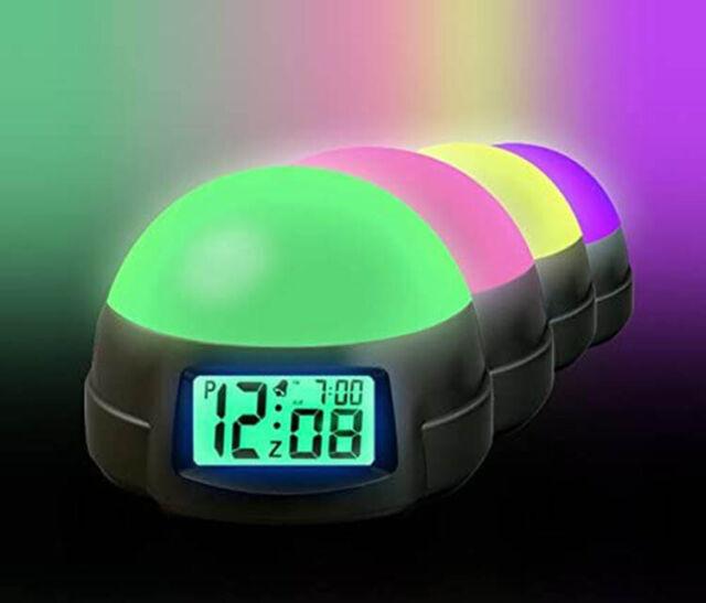 Timelink Electric Digital Color, Timelink Led Alarm Clock With Multi Color Display
