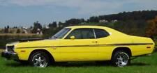 Mid Body Longitudinal Side Stripes For 1973 1974 Dodge Dart Sport