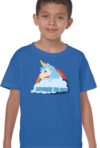 As Worn By The Rock Central Intelligence Movie Kids Unicorn T-Shirt Movie Fil