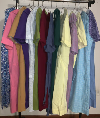 VINTAGE 1960'S 1970'S 60'S 70'S WOMENS TOPS LOT OF